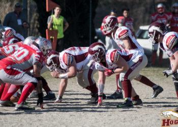 Hogs Reggio Emilia in difesa