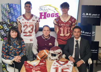 Sp3 - Dgplast sponsor Hogs Reggio Emilia